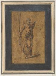 Standing Apostle (Saint Paul?)