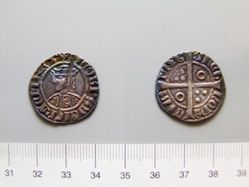 Silver groat of James II from Barcelona