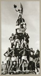 Male Pyramid (Sports Parade on Red Square), from The Alexander Rodchenko Museum Series Portfolio, Number 1: Classic Images