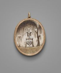 A Double Sided Mourning Locket