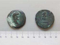Copper of Antoninus Pius from Alexandria