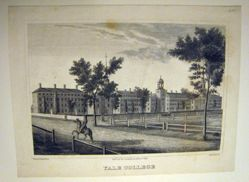 Second Jocelyn View of Yale College published for the Souvenir