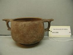 Bowl or cup with two handles