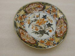 "Pair of plates, ""Imari"" pattern"