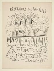 Répertoire des Pantins: Marche des Polonais