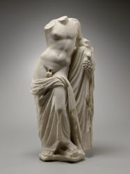 Draped Figure of Dionysos