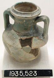 One-handled vase fragment