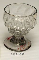 Salt or Bonnet Glass
