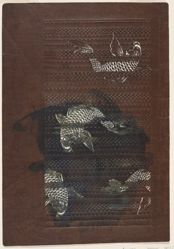 Fish [Japanese stencil design]