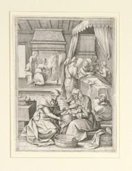 Six Scenes of the Life of the Virgin