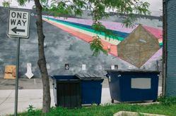 Untitled (Prism Mural)
