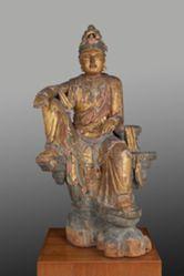 Bodhisattva Avalokiteshvara in the Water-Moon Manifestation (Shuiyue Guanyin)