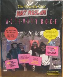 The Guerrilla Girls' Art Museum Activity Book from the portfolio Guerrilla Girls' Compleat 1985-2008