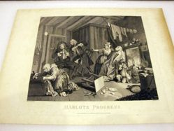 The Harlot's Progress, Plate 5