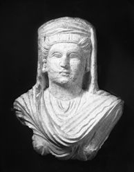 Limestone Head of a Woman