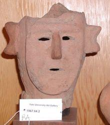 Haniwa Male Head