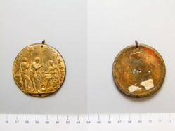 Medal of the Allegory before the Altar of Diana