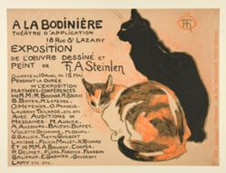 Exposition de L'Œuvre Dessiné et Peint de T. A. Steinlen (Exhibition of the Graphic Works and Painting of T. A. Steinlen)