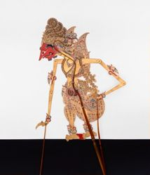 Shadow Puppet (Wayang Kulit) of Endro, from the consecrated set Kyai Nugroho