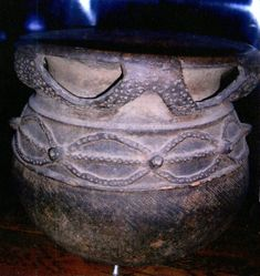 Vessel Decorated with Spider Motif