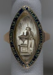 Mourning Ring for William Coleman (c. 1753-1787)