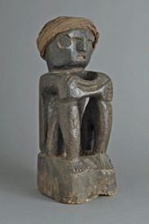 Ancestor Figure with Cloth Head Band