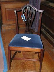 One of three sidechairs