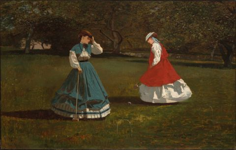 A Game of Croquet