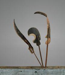 Puppet (Wayang Klitik) of a Sickle (Arit)