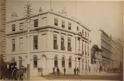 Union Bank of Australia, Pitt and Hunter Streets, Sydney, from the album [Sydney, Australia]