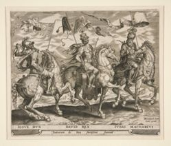 Joshua, David and Judas Maccabeus, #2  from The Nine Worthies