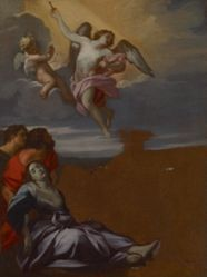 Study for the altarpiece of Saint Rosalie among the Plague-Stricken