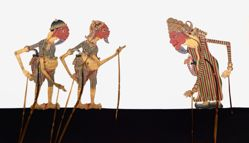 Shadow Puppet (Wayang Kulit) of Cantrik, from the consecrated set Kyai Nugroho