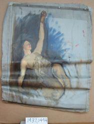 Figure Study, for The Spirit of Light, Rotunda, Pennsylvania State Capitol, Harrisburg