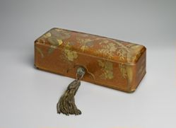 Scroll Box with Phoenix and Paulownia Design