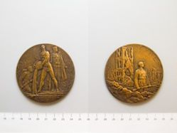 Belgian Medal Commemorating the Battles of the Yser and Ypres