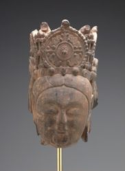 Head of Bodhisattva Guanyin