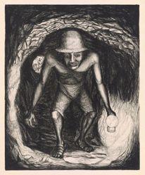 Minero de la plata (Silver Mine Worker), from the portfolio Mexican People