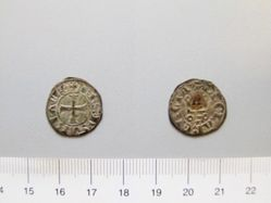 Silver denier of Philip of Savoy from Achaia