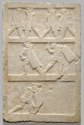 Relief with Gladiators