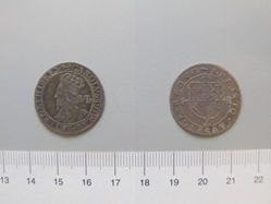 Silver Sixpence of Charles I from London