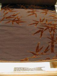 Length of cut voided satin velvet