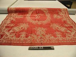 Handkerchief or napkin of fancy twill
