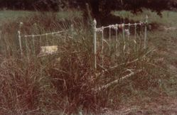 Grave with Bed as Grave Marker near Faunsdale, Alabama, 1967