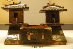 Model of a Two-Towered Barnyard