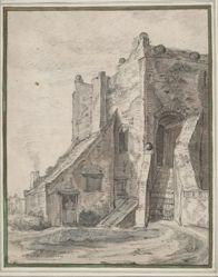 Home in Castle Ruin