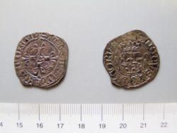 Silver florette of Henri V