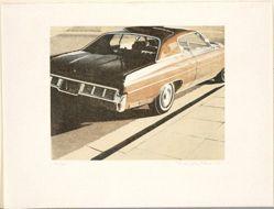 Four Chevies (car on street)