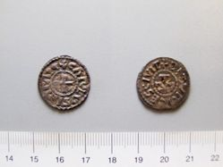 Silver denier of Charles the Fat