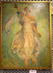Figure Study, for The Spirit of Religious Liberty, Rotunda, Pennsylvania State Capitol, Harrisburg